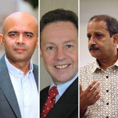 Ian Woodward, Paddy Padmanabhan, Sameer Hasija